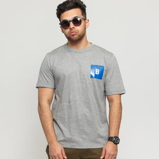 BAND OF OUTSIDERS B Logo Printed SS T-shirt