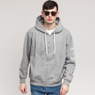 BAND OF OUTSIDERS Band Logo Embroidered Zipped Hoodie
