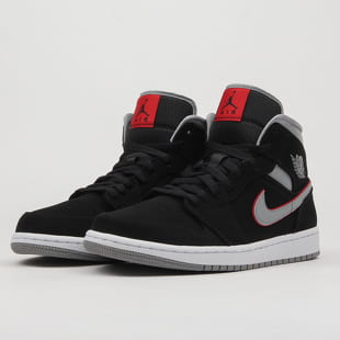 brand new 94800 525d6 Jordan Air Jordan 1 Mid black / particle grey - white