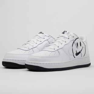 premium selection 4deb9 f3bdd Nike Air Force 1 LV8 2 (GS) white   white - black
