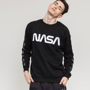 Urban Classics NASA Wormlogo Rocket Tape Crewneck