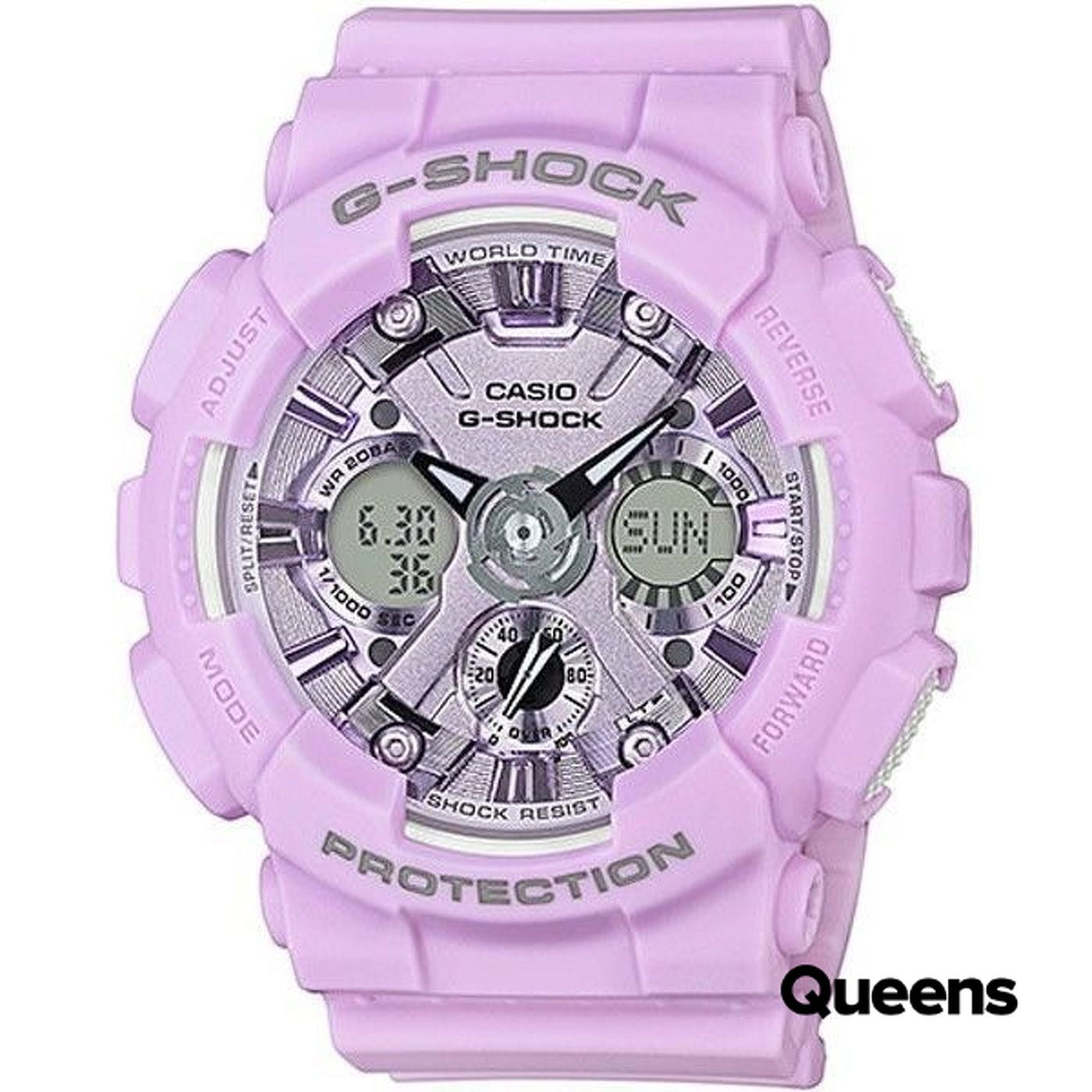 Casio G-Shock GMA S120DP-6AER hell-lila