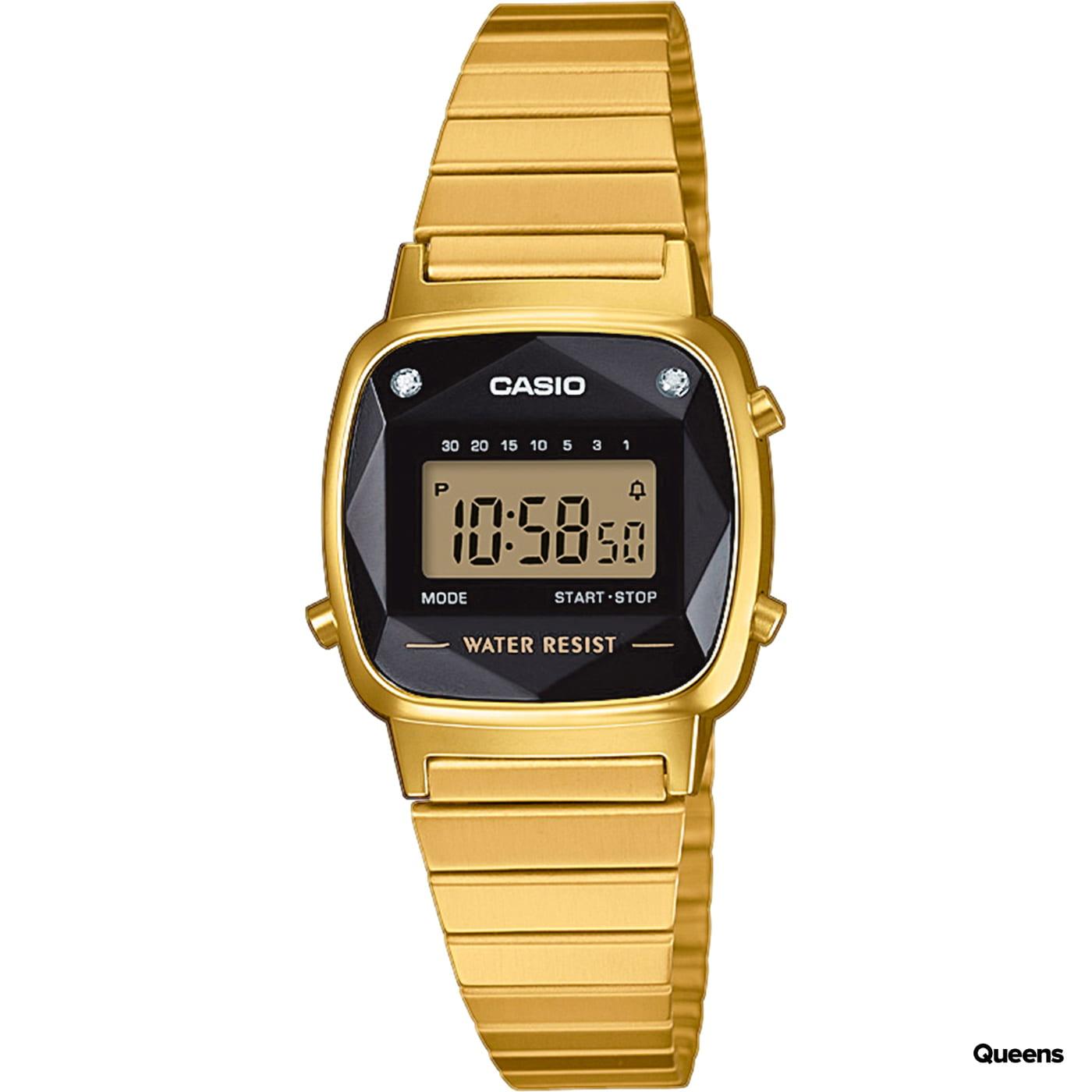 Casio LA 670WEGD-1EF gold / schwarz