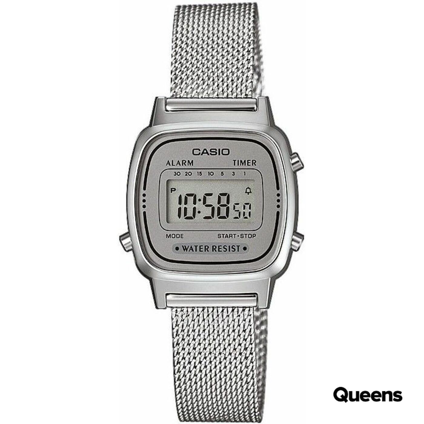 Casio LA 670WEM-7EF silver