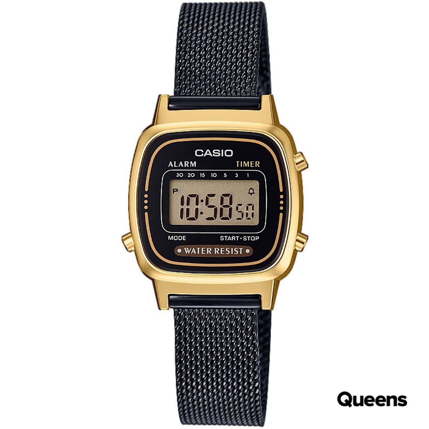 Casio LA 670WEMB-1EF black / golden