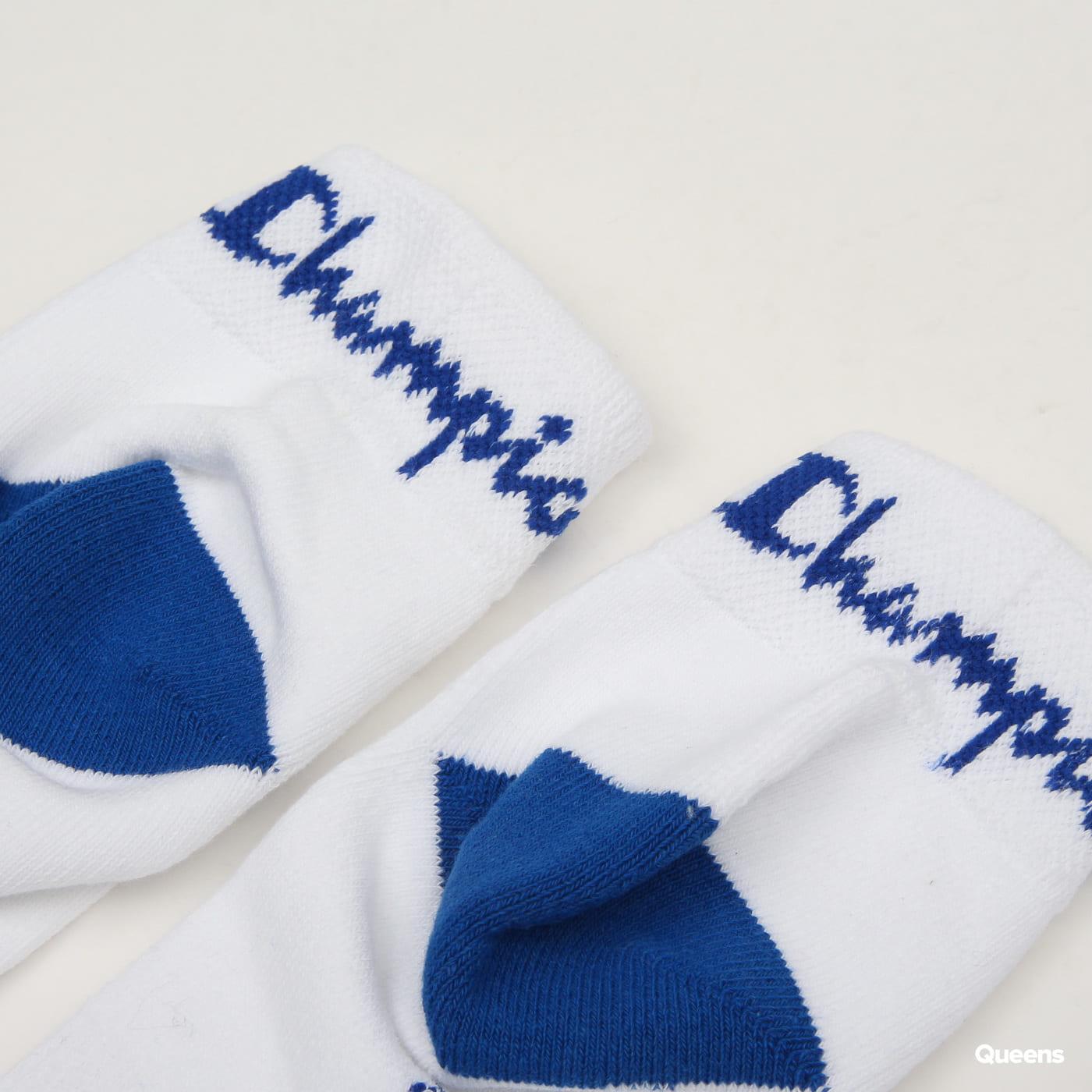 Champion 3 Pack Ankle Socks biele / modré / červené