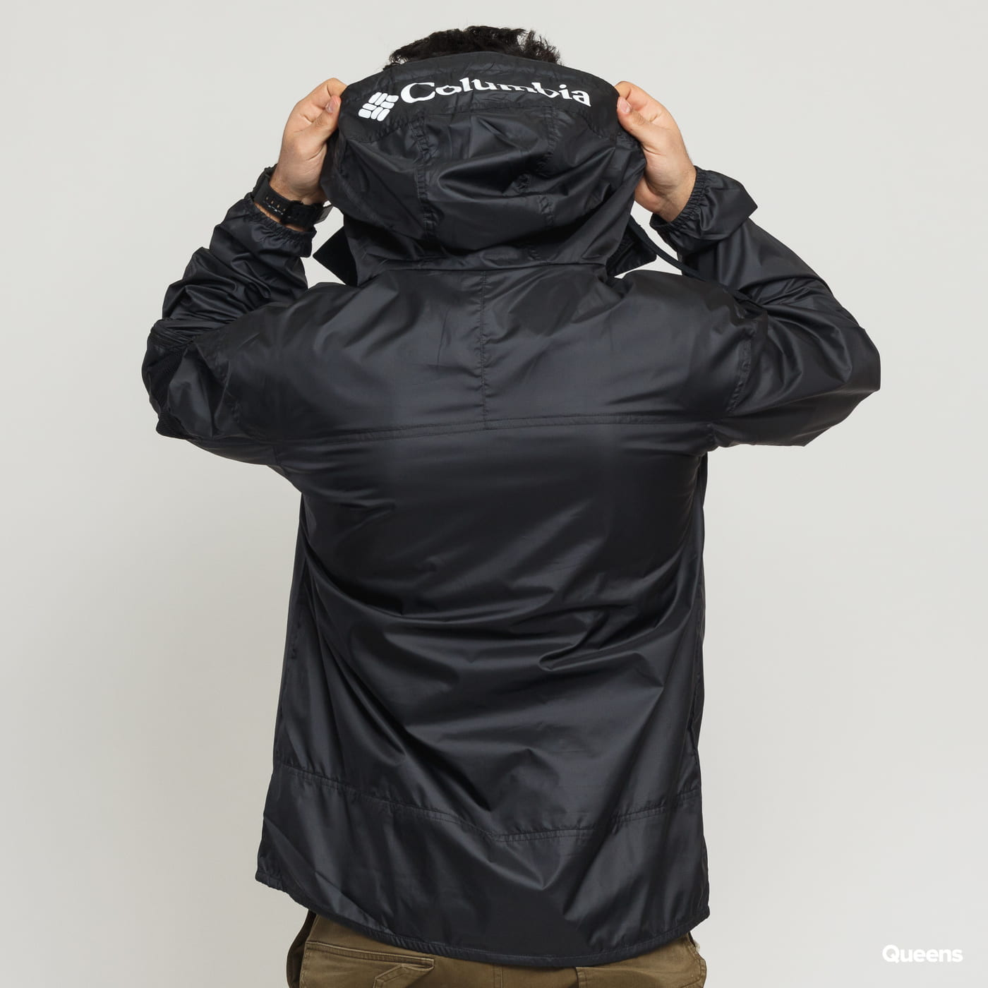 Columbia challenger Windbreaker black