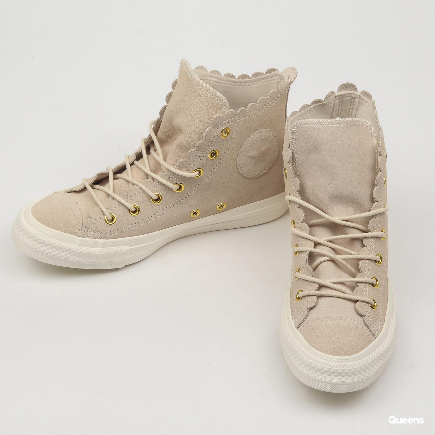 Converse Chuck Taylor All Star Hi natural ivory / gold / egret
