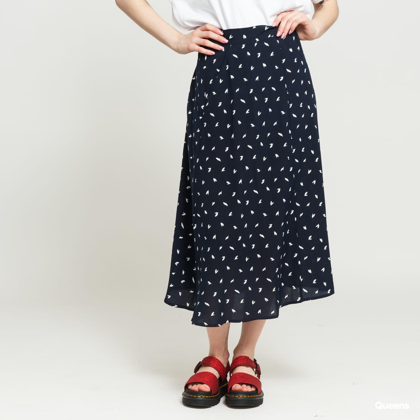EDITED Dafne Skirt navy / biela