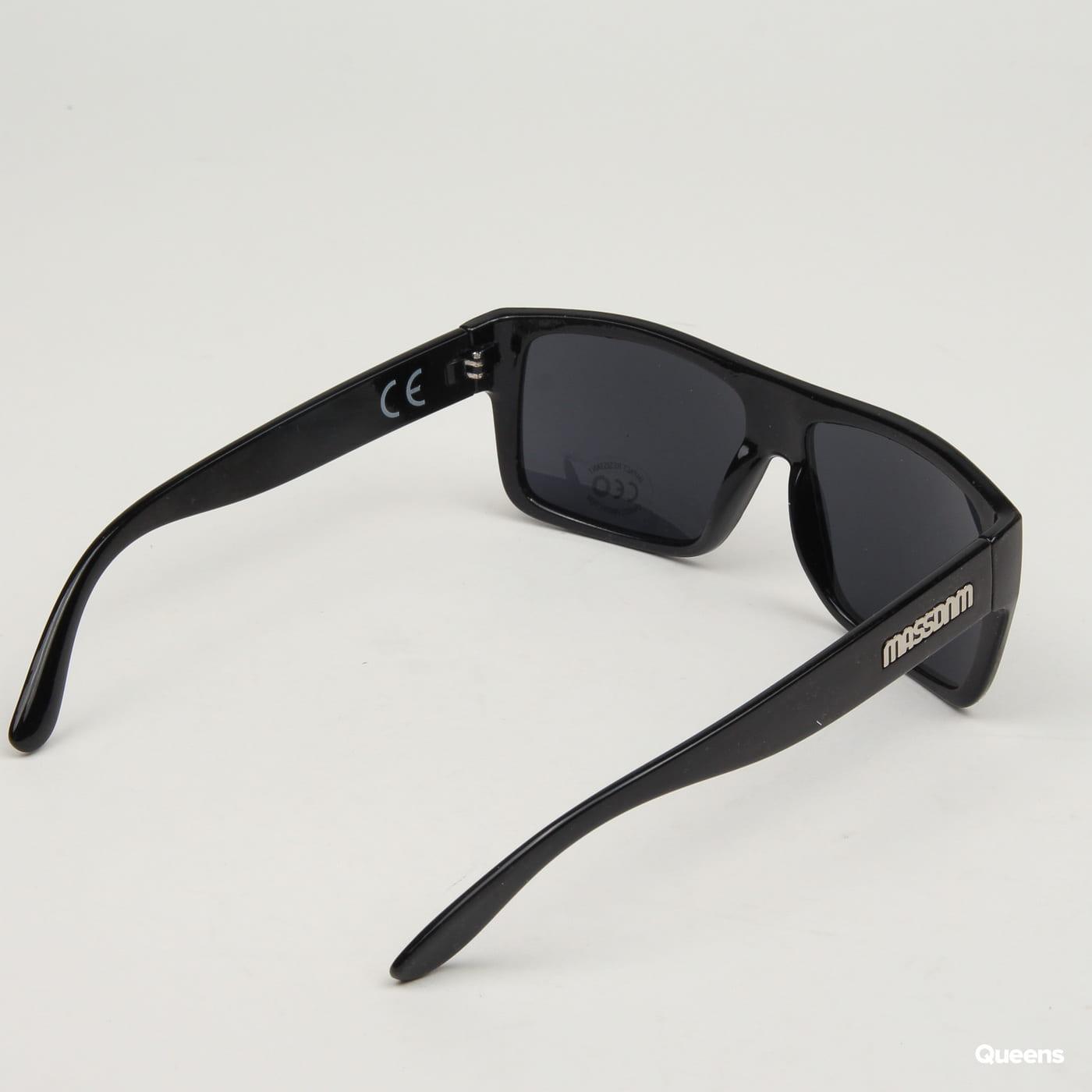 Mass DNM Icon Sunglasses black satin