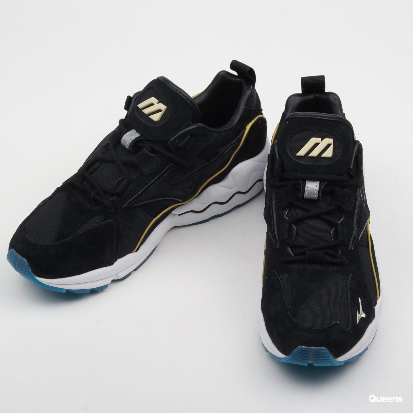 Mizuno Wave Rider 1 Premium black / black / wood ash