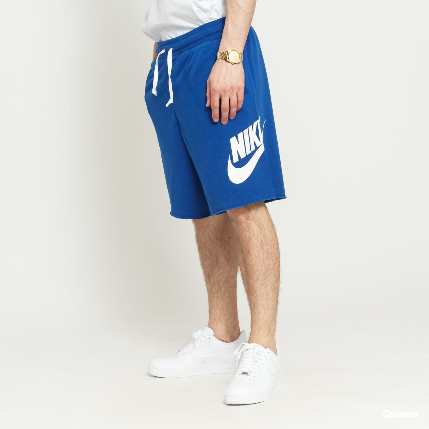 c6e9cfbba29ca Sweat Shorts Nike M NSW HE Short FT Alumni dark blue (AR2375-439) – Queens  💚