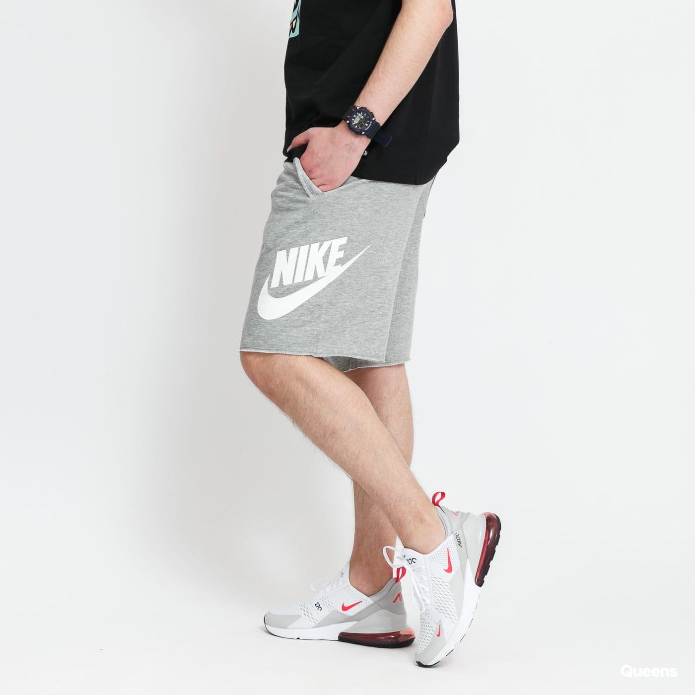 Nike M NSW HE Short FT Alumni melange gray