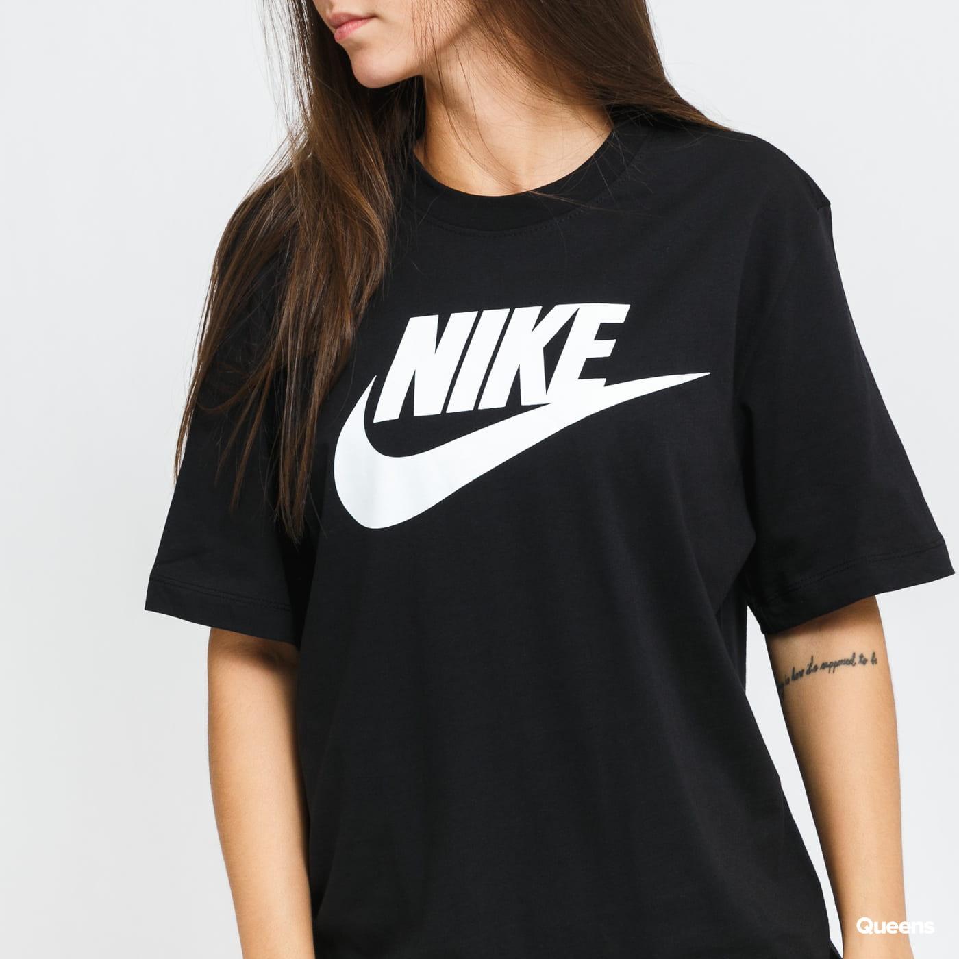 Nike M NSW Tee Icon Futura black satin