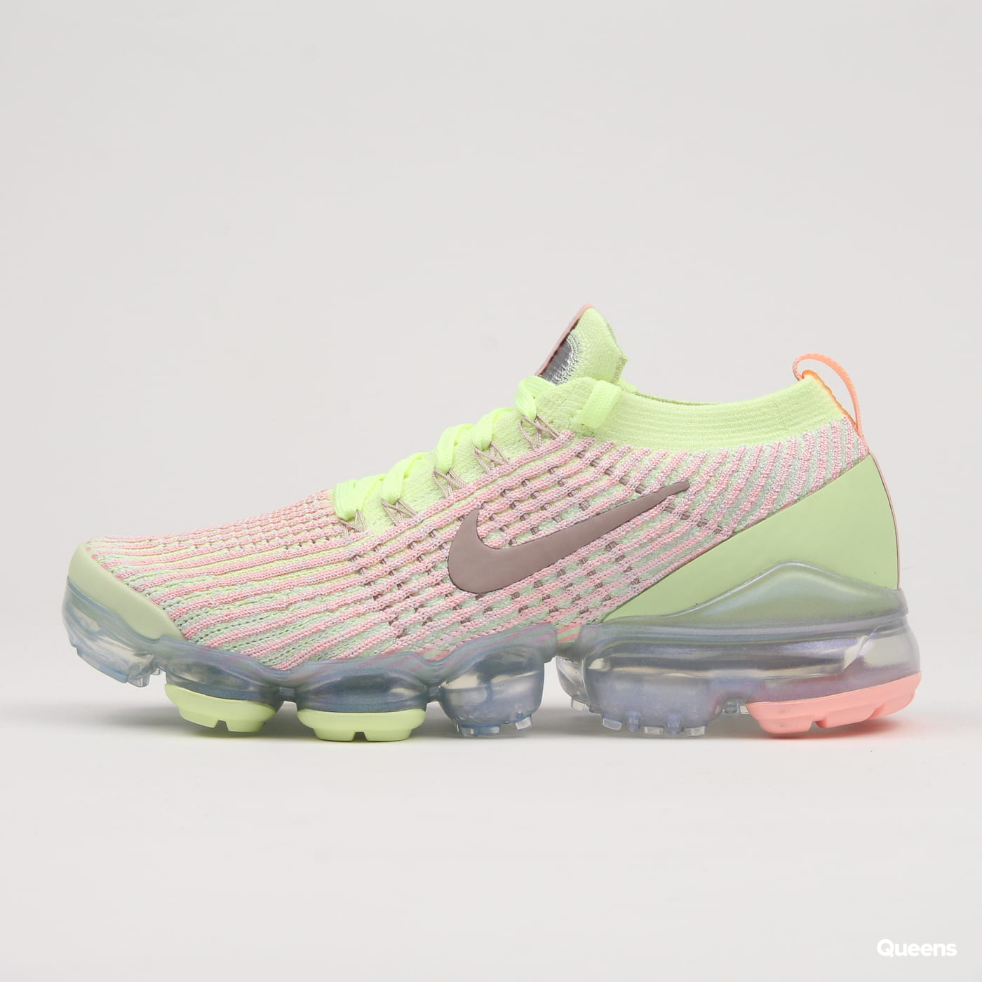 Nike W Air Vapormax Flyknit 3 barely volt / diffused taupe