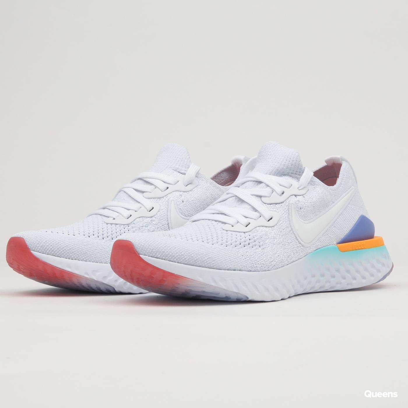 Nike W Epic React Flyknit 2 white