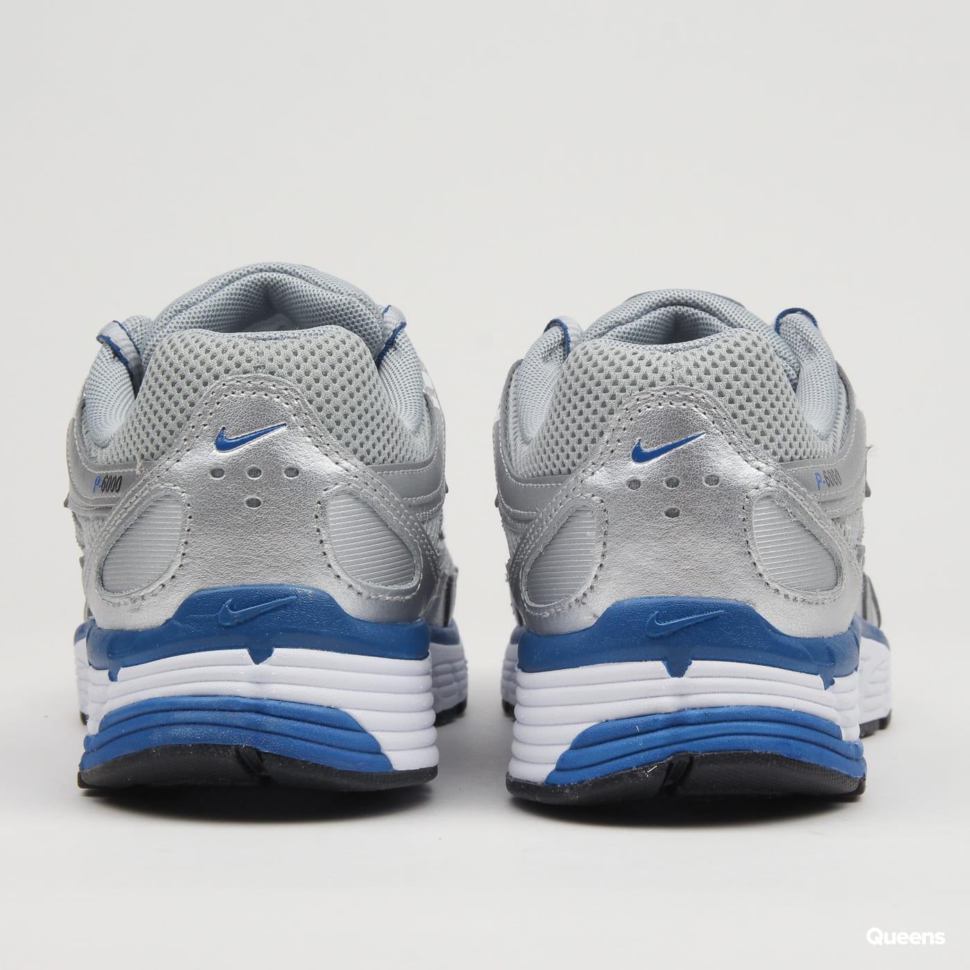 d72a3729721d2 Zoom in Zoom in Zoom in Zoom in Zoom in. Nike W P-6000 metallic silver   team  royal