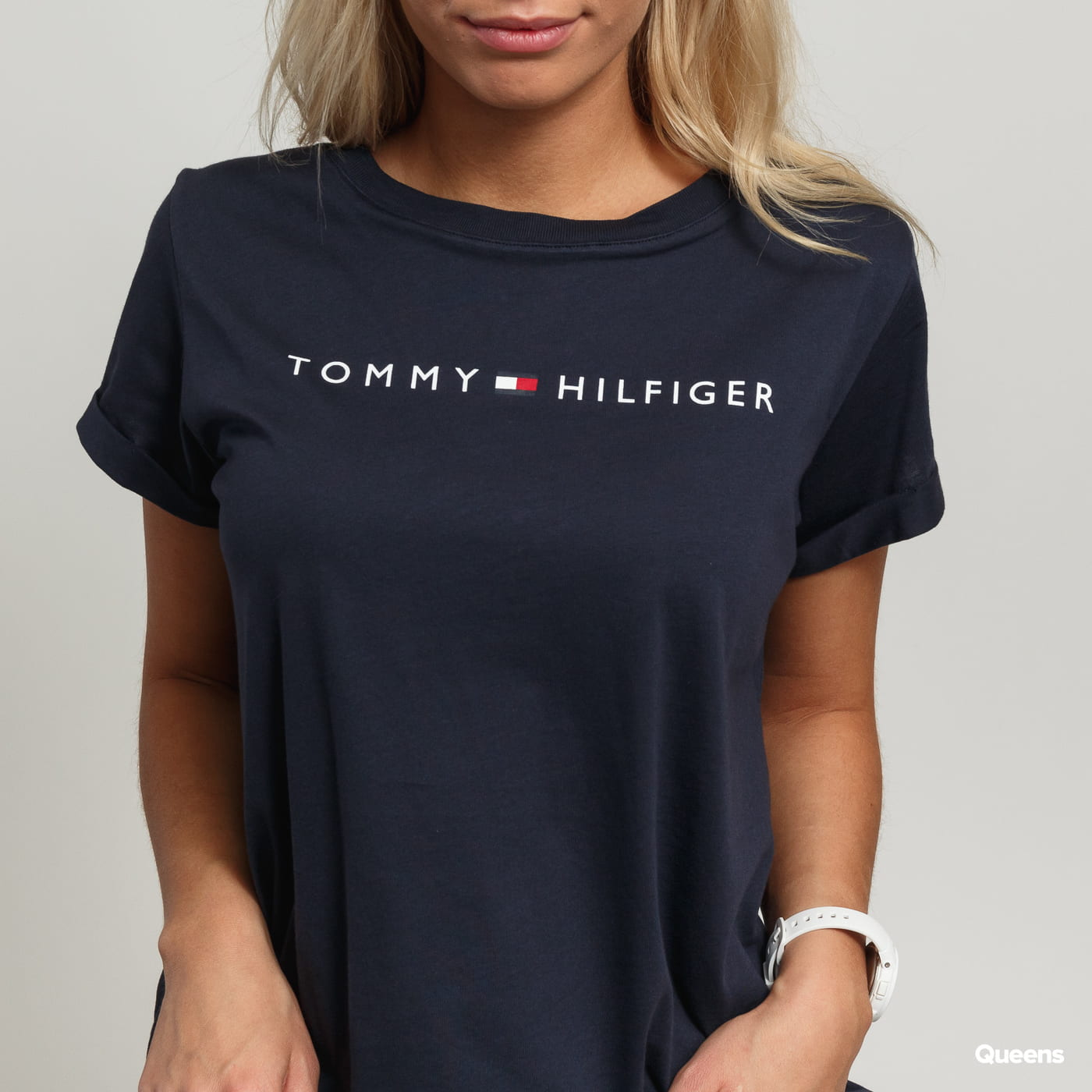 Tommy Hilfiger RN Tee SS Logo navy