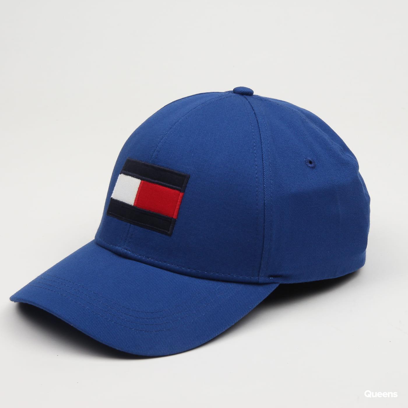 24c8943e3 TOMMY JEANS Big Flag Cap blue