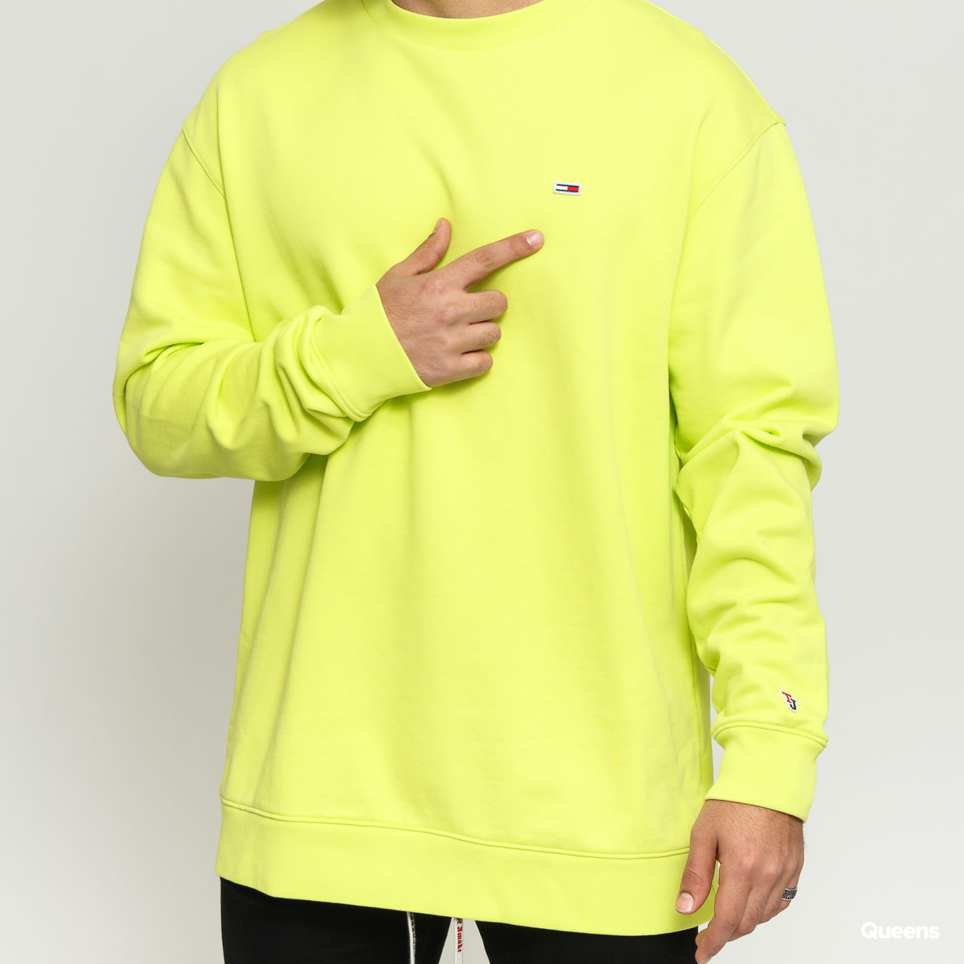 TOMMY JEANS M Tommy Classics Crew Kalk