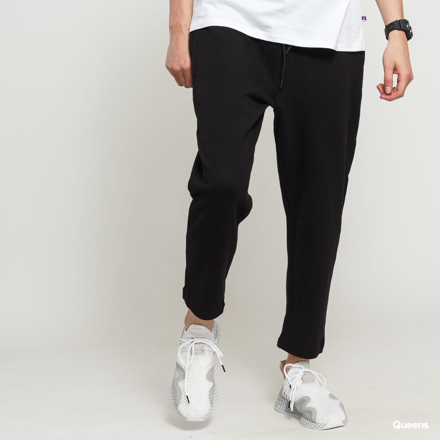 Urban Classics Cropped Terry Pants čierne