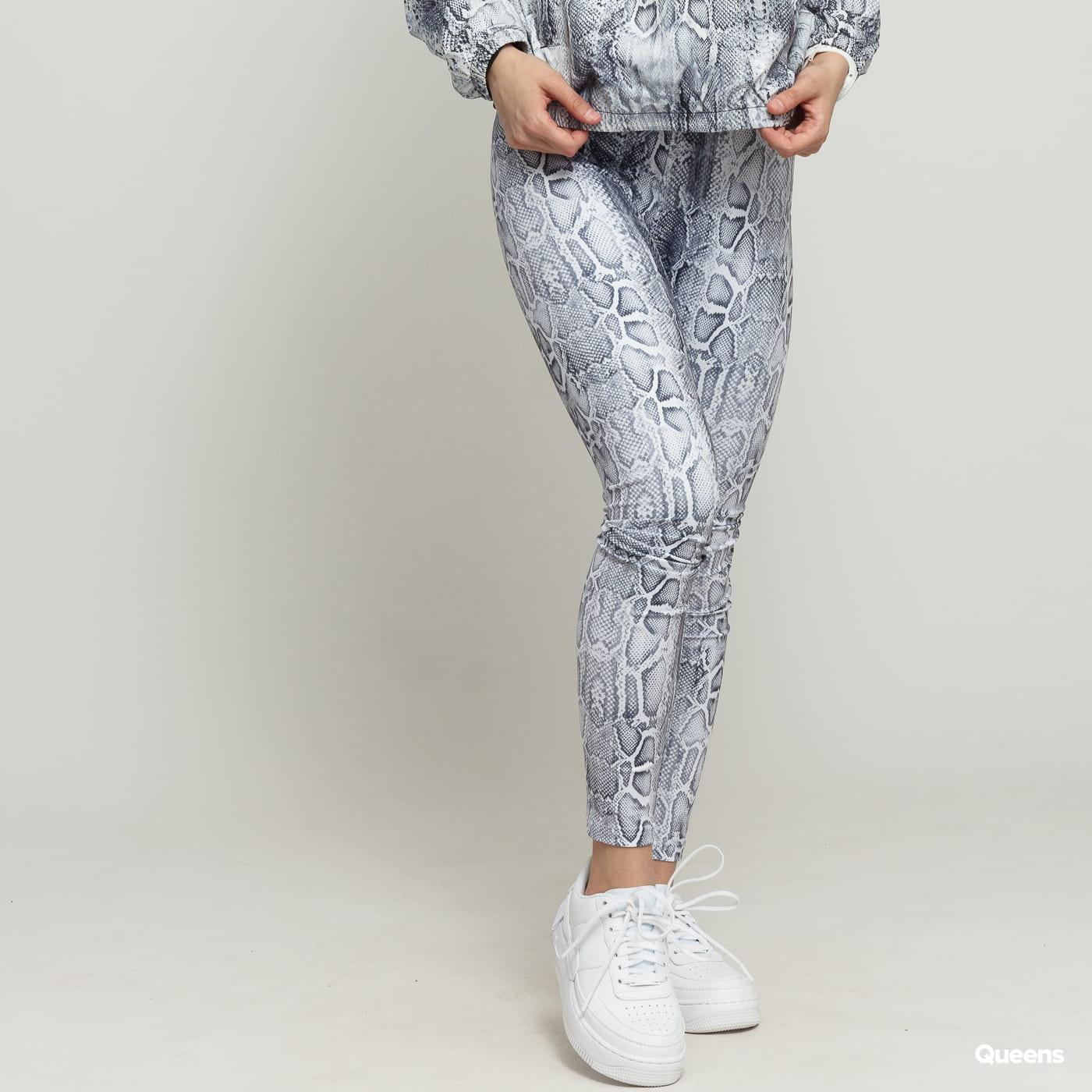Urban Classics Ladies Pattern Leggings white / dark gray