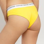Calvin Klein Brazilian Hipster žluté / bílé