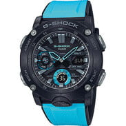 Casio G-Shock GA 2000-1A2ER čierne / tyrkysové