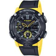 Casio G-Shock GA 2000-1A9ER schwarz / gelb