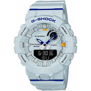 "Casio G-Shock GBA 800DG-7AER ""Basketball Series"" bílé"