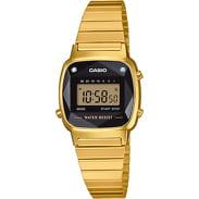 Casio LA 670WEGD-1EF zlaté / černé