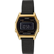 Casio LA 690WEMB-1BEF black / golden