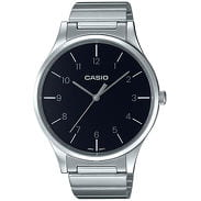 Casio LTP E140DD-1BEF stříbrné / černé
