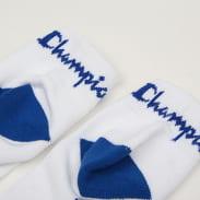 Champion 3 Pack Ankle Socks bílé / modré / červené