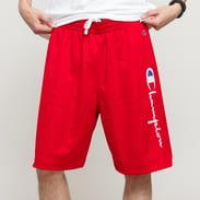 Champion Basketball Mesh Script Logo Shorts červené