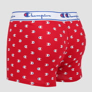 Champion Cotton Boxer Small Logo červené