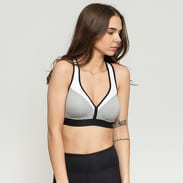 Champion The Curvy Sports Bra Grau / Schwarz / Weiß