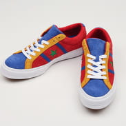 Converse One Star Academy OX enamel red / blue / white