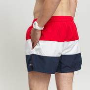 Fila Saloso Swim Shorts navy / bílé / červené