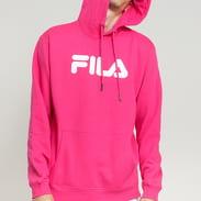 Fila Unisex Classic Pure Hoody tmavě růžová
