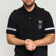 FRED PERRY Taped Pique Shirt černé