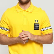 FRED PERRY Taped Pique Shirt žluté