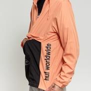 HUF Jacket Peak 3.0 Anorak oranžová / černá