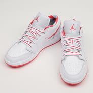 Jordan Air Jordan 1 Low (GS) white / ember glow - topaz mist