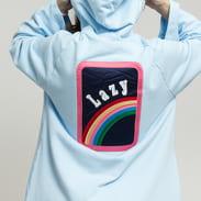 LAZY OAF Over The Rainbow Hoodie Dress světle modré