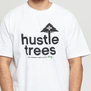 LRG Hustle Trees Tee bílé