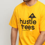 LRG Hustle Trees Tee světle oranžové