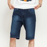 Mass DNM Base Regular Fit Shorts Jeans dark blue