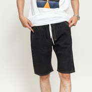 Mass DNM Classics Straight Fit Shorts Jeans black rinse