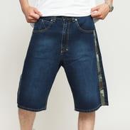 Mass DNM Shelter Shorts Jeans dark blue